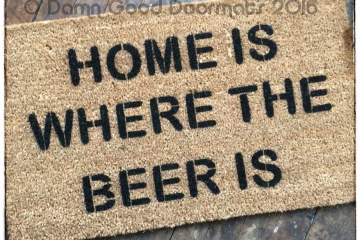 Home is where the BEER is doormat