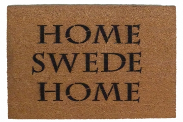 home SWEDE home funny Swdish doormat