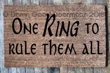 One RING Tolkien doormat