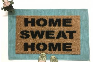 Home Sweat Home, Still Game gym doormat