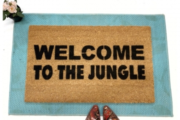 Welcome to the Jungle Gun N' Roses doormat