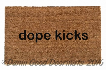 dope kicks/shoes doormat