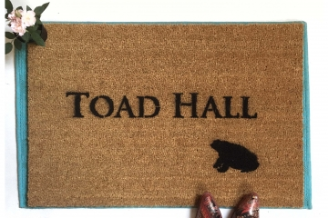 Wind in the Willows, Toad Hall doormat Hand Painted