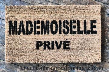 Mademoiselle PRIVÉ doormat