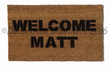 Welcome Matt funny welcome doormat