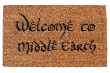 Middle Earth, JRR Tolkien nerd doormat