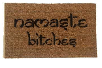 Namaste Bitches™ funny doormat