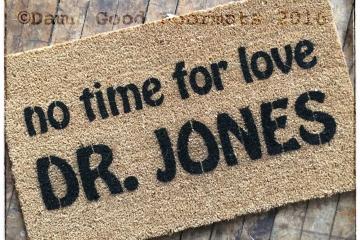 Dr. Jones doormat