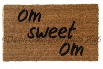 om sweet om  Zen doormat