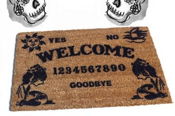 Spooky Oracle Board seance Doormat