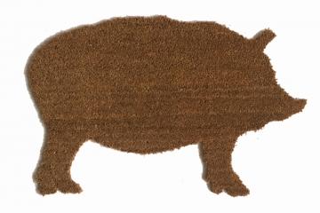 PIG barnyard doormat