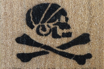 Pirate Skull and Crossbones Jolly Rodger