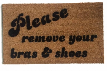 Please remove your bras and shoes™