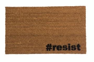 #resist hashtag doormat