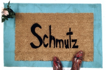yiddish Schmutz doormat