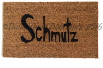 yiddish Schmutz doormat