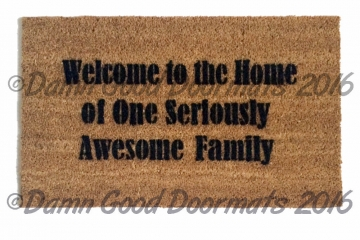 Welcome to the home of one Seriously Awesome Family™