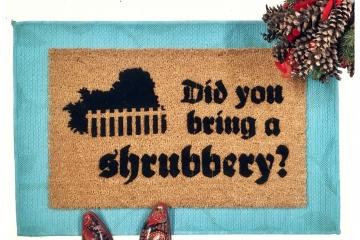 SHRUBBERY, Monty Python Holy Grail