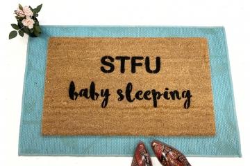 STFU Baby Sleeping™ Cursive