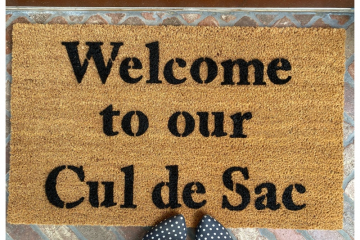 Welcome to our Cul de Sac