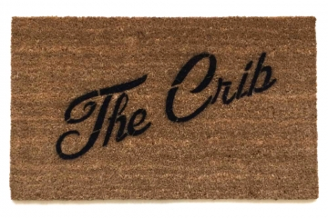 The Crib™ entrance doormat