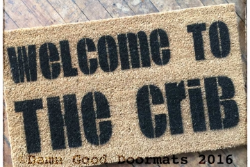 Welcome to the Crib™ doormat