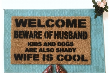 HEY-O! Beware of HUSBAND™, wife is cool