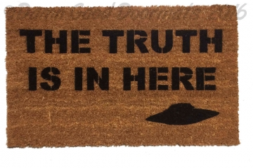 TRUTH x-files doormat
