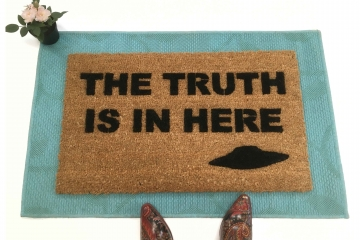 TRUTH is IN HERE x-files doormat