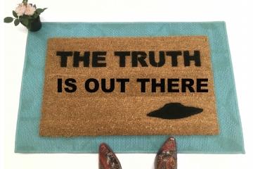 TRUTH x-files doormat
