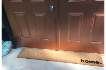 home cute doormat