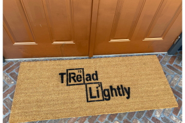 Doublewide XL Periodic Table Tread Lightly doormat