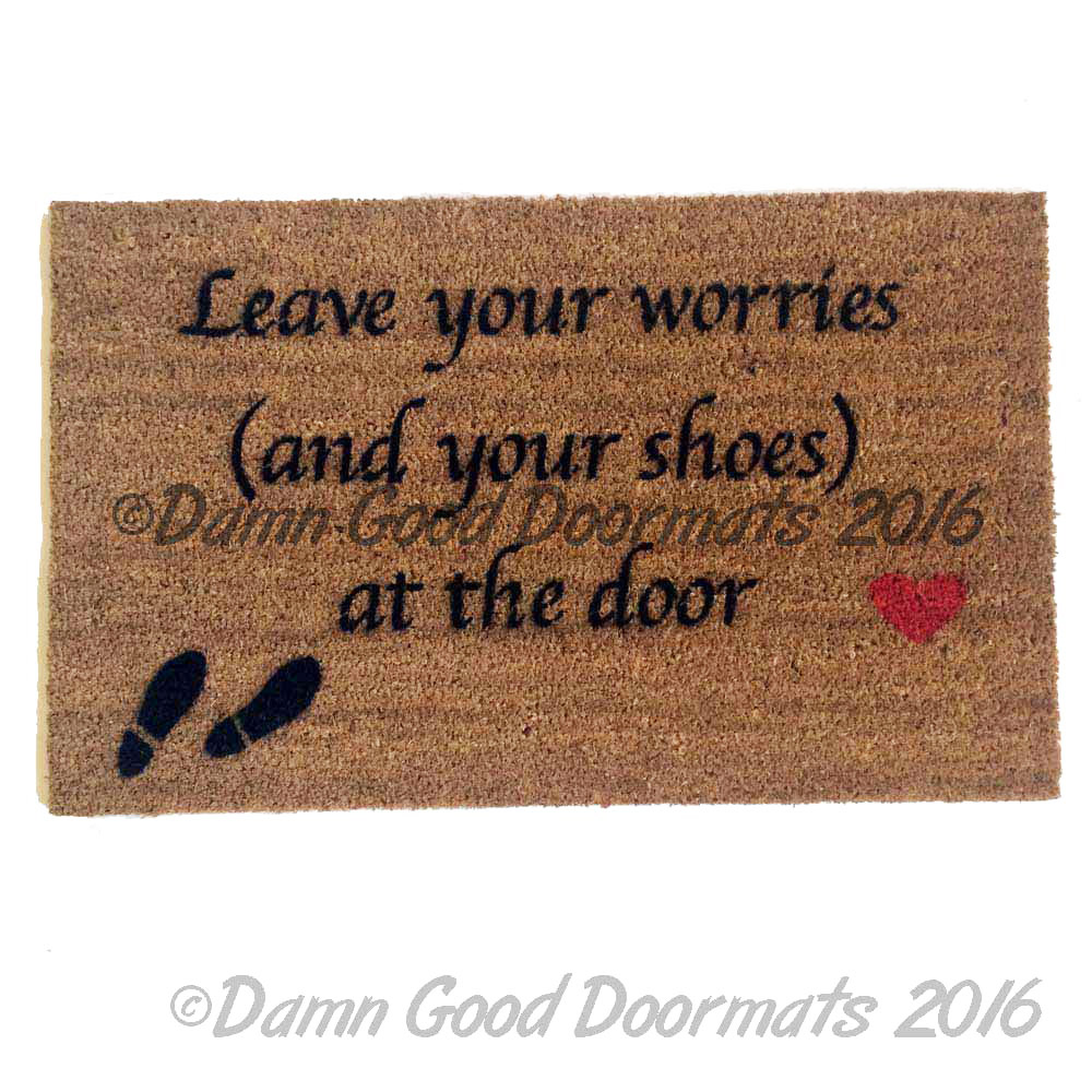 SCRIPT Leave your worries (and your shoes) at the door (heart ...